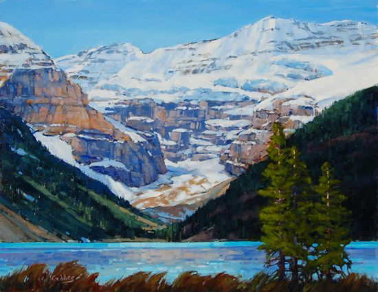 'Mount Victoria, Lake Louise' by Jean Geddes