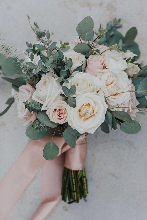 40 romantische errötenpinke Hochzeitsideen für Frühling / Sommer 2019  – Brautstrauss