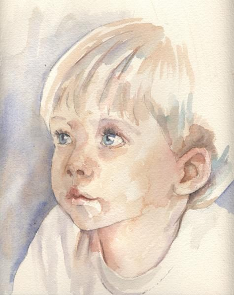 July 2006 Step-by-Step Portrait Class — Tutorial - WetCanvas