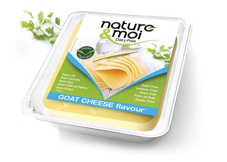 fromage vegan végétalien goat cheese
