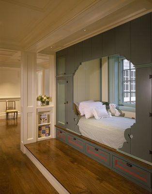Scandinavian Folk: Obsession: Scandinavian Box Beds
