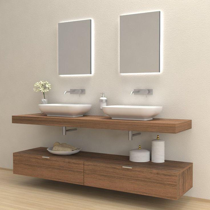 Oltre 25 fantastiche idee su mobili per il lavabo del - Mobile bagno completo ...