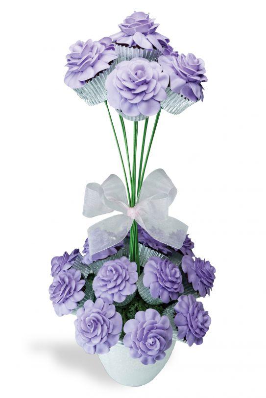 15 best Cupcake Flowers images on Pinterest   Cupcake flower ...