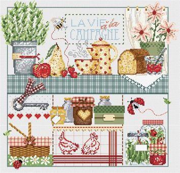 Madame La Fee Cross Sch Patterns And Kits