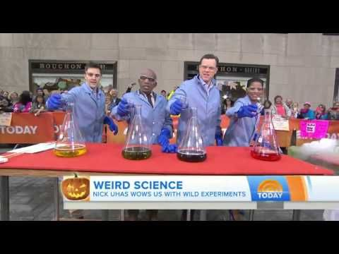 Mad science! Spook-tacular Halloween experiments overflow on the plaza
