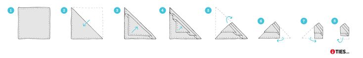 How To Fold The Stairs Pocket Square   Ties.com