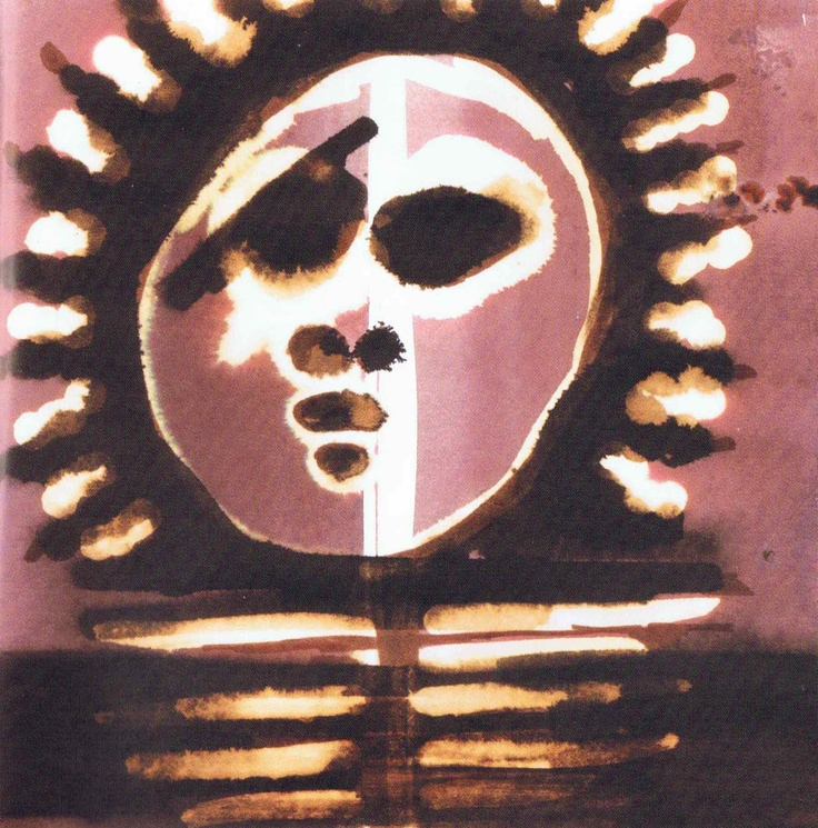 Toile de Tiga, un des grand maîtres de la peinture haitienne contemporaine