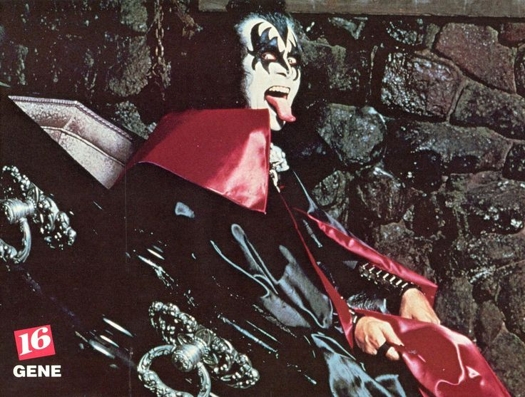 gene simmons 70s. gene simmons pinup clipping 70\u0027s in coffin kiss gene simmons 70s