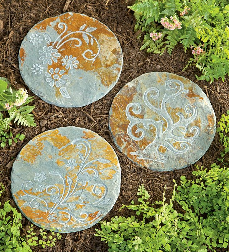 Making A Wonderful Garden Path Ideas Using Stones: Stepping Stone Pathway Ideas