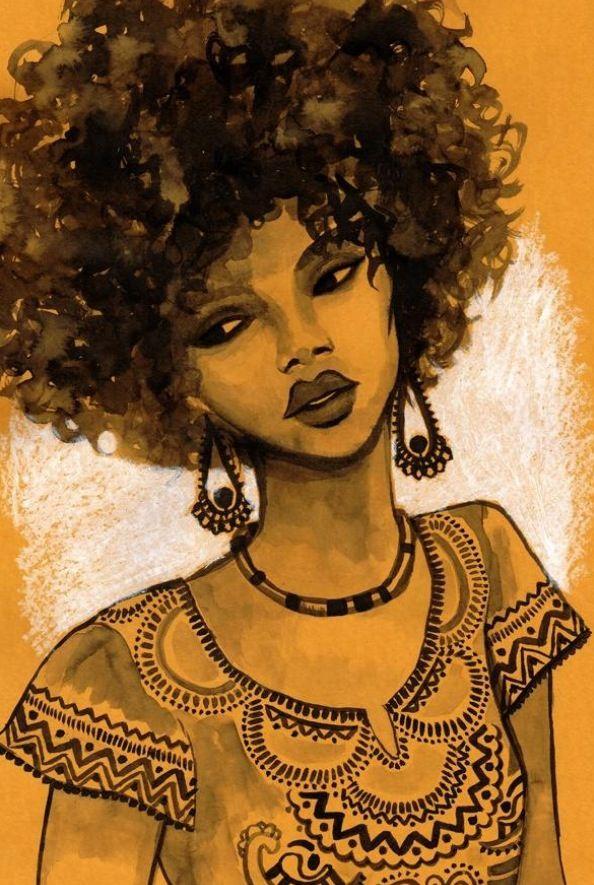 beja afro pick - Google Search | Afro art, Natural hair
