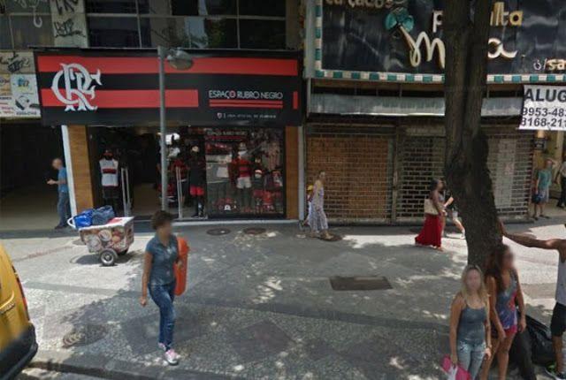 Bandidos tentam arrombar loja do Flamengo no Méier Zona Norte do Rio veja o vídeo