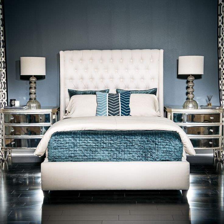 Amelia Tall Bed, Delight Ivory   Bedroom   Furniture