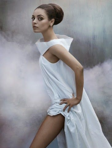 Mila Kunis in Black Swan editorial