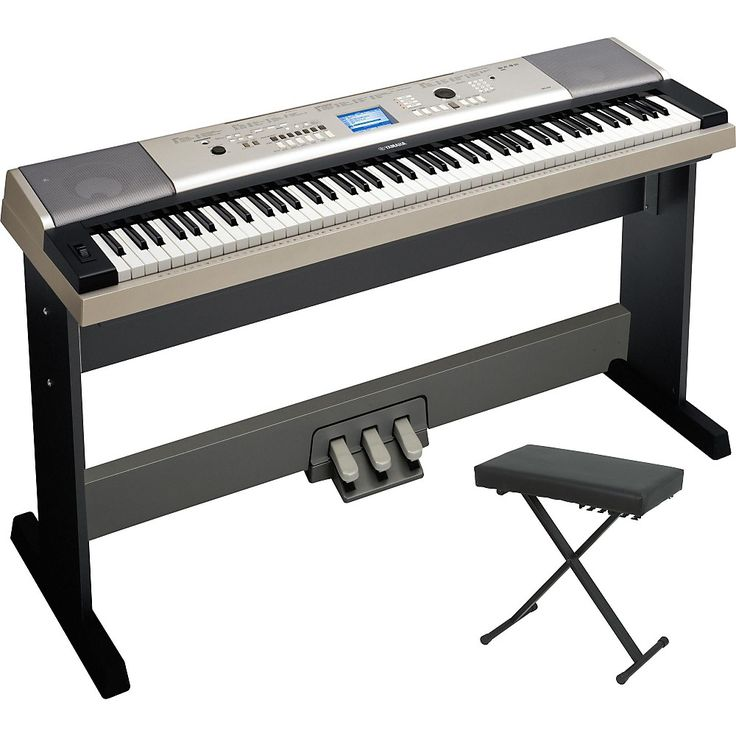35 best music unique piano s images on pinterest music for Yamaha ypg 535 weighted keys