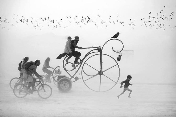 Burning man festival - Victor Habchy
