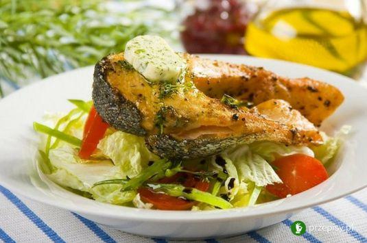 Łosoś pachnący koperkiem #fish #salmon #cooking