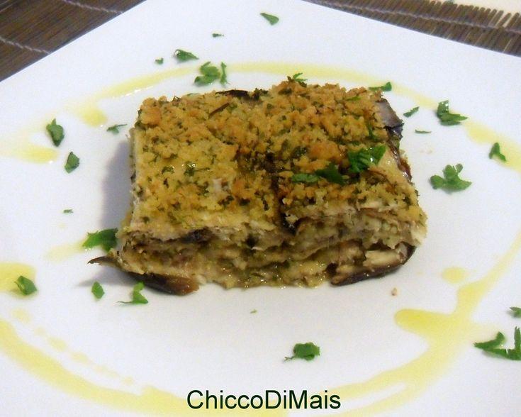 Tortino di alici e melanzane ricetta semplice il chicco di mais http://blog.giallozafferano.it/ilchiccodimais/tortino-di-alici-e-melanzane-ricetta-semplice/