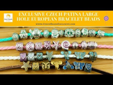 Video! EUROPEAN BRACELET BEADS Exclusive Czech Patina Large Hole     #dawanda #dawanda_de #dawandashop #etsy #etsyshop #etsystore #etsyfinds #etsyseller #amazon #amazondeals #alittlemercerie #patina #largehole #patinajewelry #european #europeanbeads #braceletbeads #europeanbracelet #bracelet #czechbeads #glassbeads #czechglassbeads #czechglassjewelry