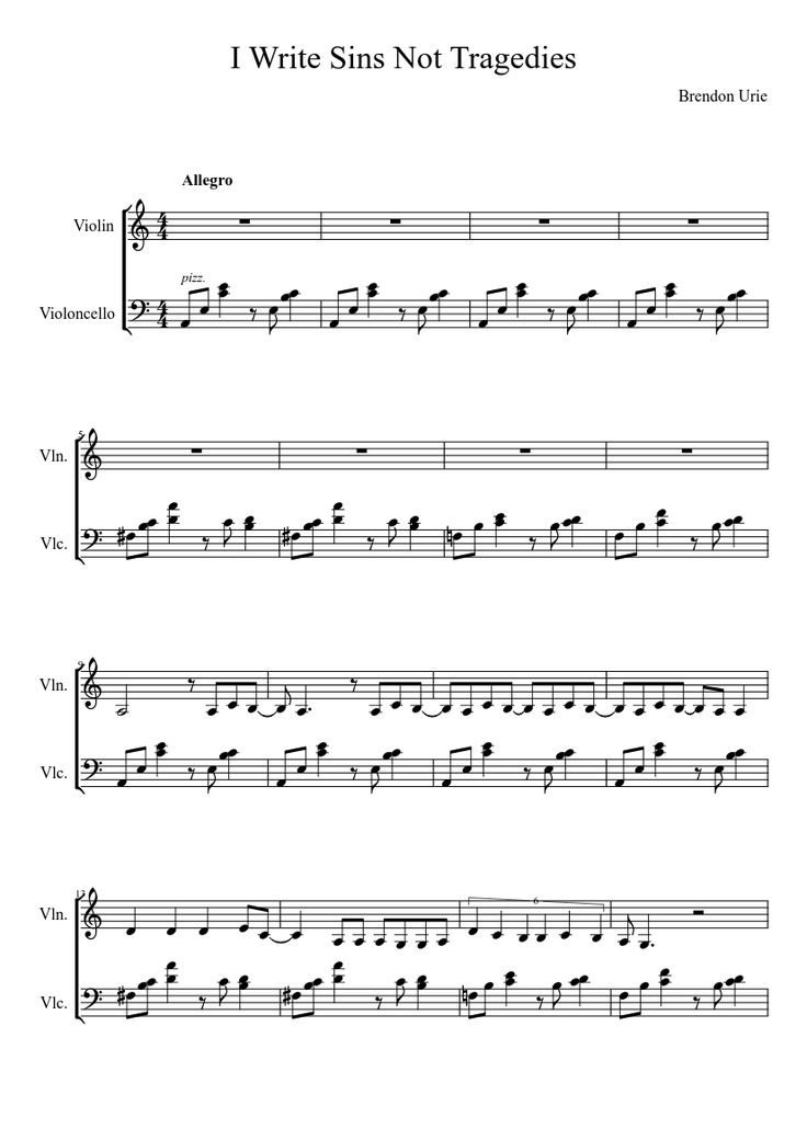 Free sheet music resource for new musicians and enthusiasts!