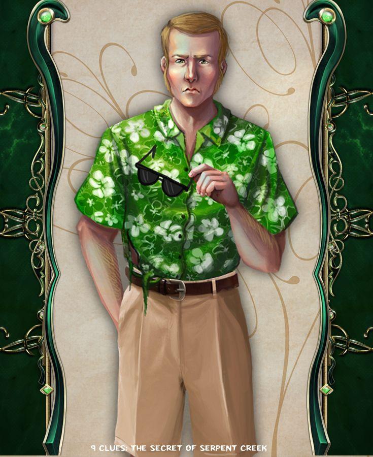 Owen Duffer #artifexmundi #tapitgames #9clues #adventure #game http://www.artifexmundi.com/page/9clues/
