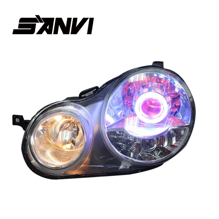 445.00$  Watch now - http://alixl3.worldwells.pw/go.php?t=32676412636 - Bi-Xenon Headlights For Volkswagen Polo 9N Hi-Low Beam Projector Lens H1 Auto Parts Headlights Head Light Car Styling  Headlamp