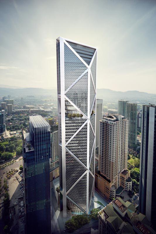 IB Tower by Foster & Partners l Kuala Lumpur, Malaysia ...
