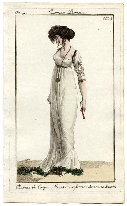 Journal des Dames et des Modes, 1800.