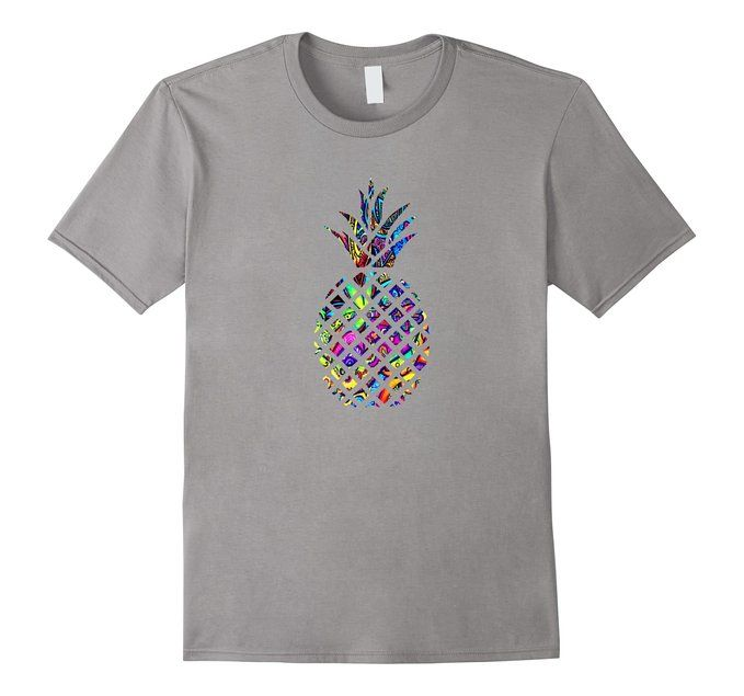Men's Psychedelic Pineapple - Tee Shirt for Hippies Of All Ages Medium Slate #pineapple #psychedelic #pineapplelove #tshirt