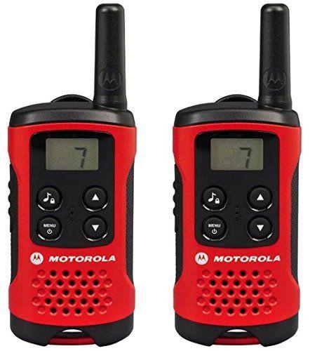 Motorola Paire de talkies walkies Motorola T40 portée en champs libre 4km Rouge: 226 unité(s) de cet article soldée(s) à partir du 11…
