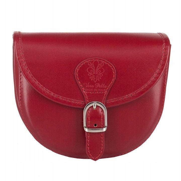 Vera Pelle Listonoszka Wloska Skora Bordowa 3889 7627783768 Oficjalne Archiwum Allegro Bags Saddle Bags Crossbody