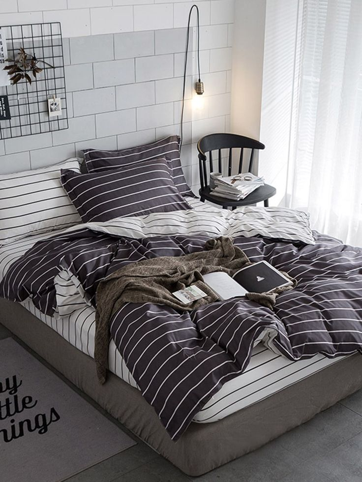 Starting at $13.39 + affordable bedding, Romwe has the perfect duvet or comforter set for any bedroom.  Many styles to choose from including teens, rustic, bohemian, luxury, country, shabby chic, college, romantic farmhouse and so many more. Whatever bedroom style you are looking for Romwe has the perfect bedroom fashion for you to choose from.  #interiors, #bedroomdesign, #lovelybedroom, #dreambedrooms, #headboard, #ivory, #bedroomidea, #style, #affiliate #AffordableLuxuryBedding