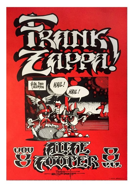 The 25 best california state university fullerton ideas on 1968 frank zappa alice cooper at cal state fullerton art by rick griffin ccuart Image collections