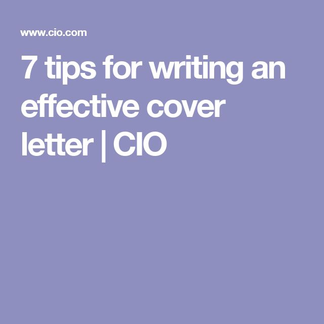 The 25+ best Effective cover letter ideas on Pinterest Cover - cover letter writing