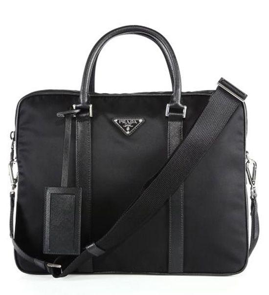 Prada Borsa Da Lavoro Briefcase Black                 $235.00