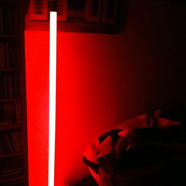 New red neon light in my room - @ilovedannyboy | Webstagram