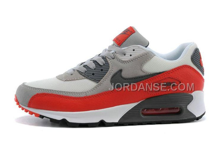 https://www.jordanse.com/womens-sneakers-nk-air-max-90-white-grey-red-for-sale.html WOMENS SNEAKERS NK AIR MAX 90 WHITE / GREY / RED FOR SALE Only 79.00€ , Free Shipping!