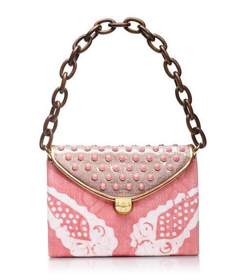 Tory Burch Maddie Pink Tie Dye Shoulder Bag .. It's called Maddie... pretty please mamma?