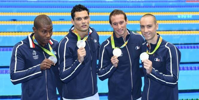 Dépossédés du titre olympique du 4x100m par les Américains, dimanche à Rio, les relayeurs français étaient, à l'image de leur capitaine Fabien Gilot, partagés entre la satisfaction d'avoir une médaille d'argent et la déception de cette défaite.