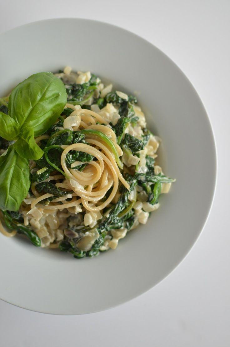 Spinach Garlic Spaghetti | Recipes | The Windmill Bakery