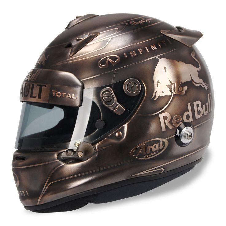 Sebastian Vettel helmet design by JMD