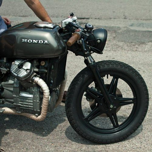 View From the Middle - Honda Café Racer