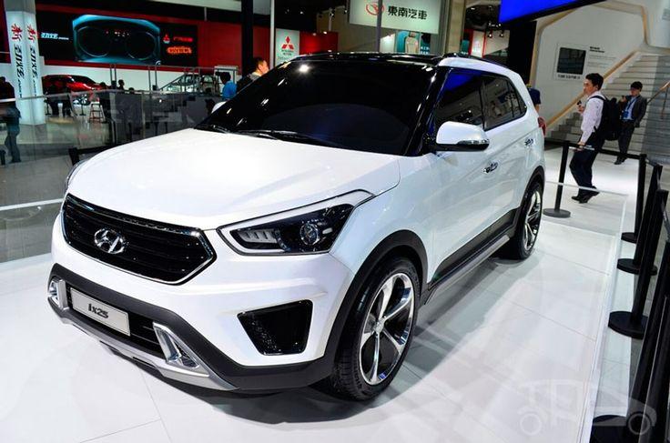 O Hyundai ix25 (também conhecido como Hyundai Creta) promete chegar ao Brasil em 2017, com a proposta de atingir o segmento dos SUVs compactos. A tarefa nada fácil envolve bater de frente com sucessos atuais, como o HR-V da Honda, a Jeep Renegade, e até mesmo promessas de peso, como é o caso do Toyota …