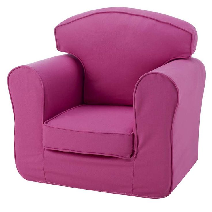 White Leather Sofa childrens furniture Pink Armchair