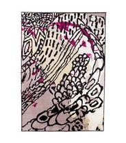 Vallila Hedelmäpuutarha-matto, pinkki
