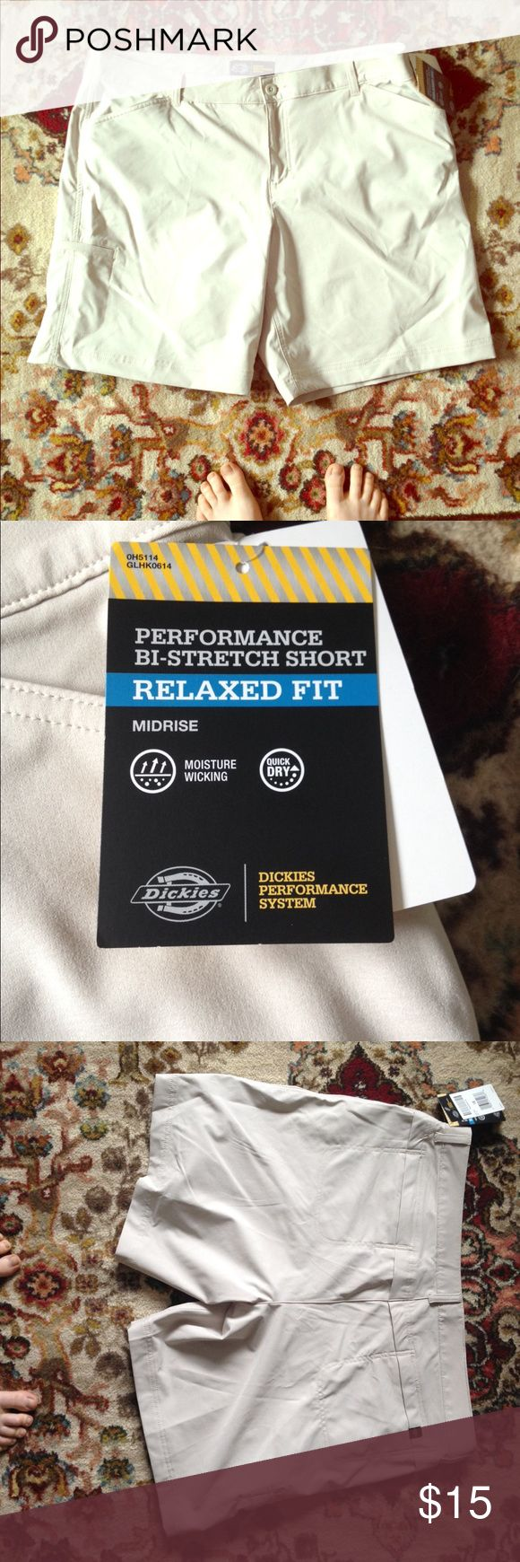 NWT Dickies Shorts New with tags Dickies Performance System Shorts. Great for outdoor activities. Dickies Shorts