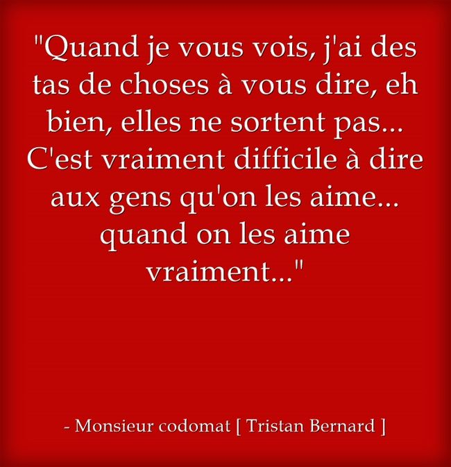 Monsieur codomat [ Tristan Bernard ]