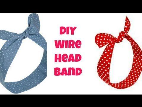 No Sew DIY Wire Wrap Headband! - YouTube