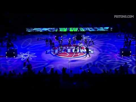 International R star Jay Sean put on a stellar show at the Palace during halftime of the Pistons-Celtics game.