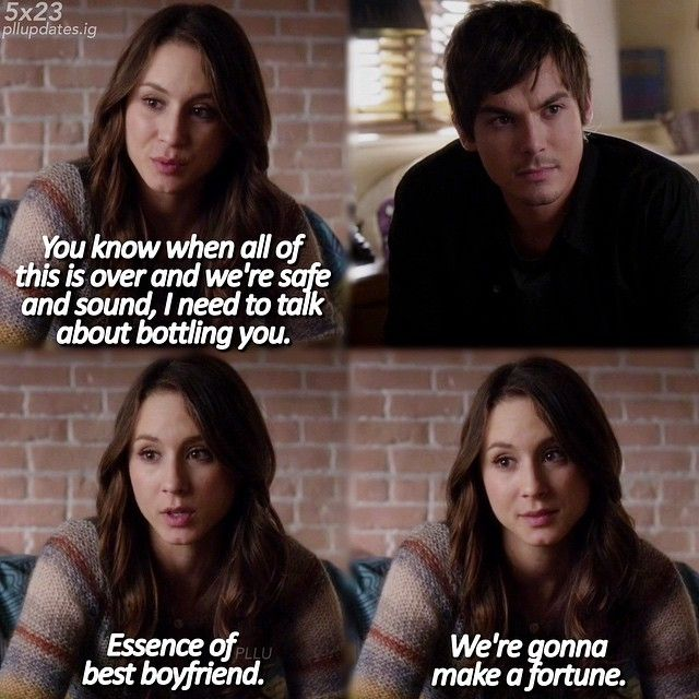 who is spencer dating in pretty little liars Spencer read more tv reality which pretty little liars stars are fans and some media outlets speculated that tyler and ashley were dating based on some.