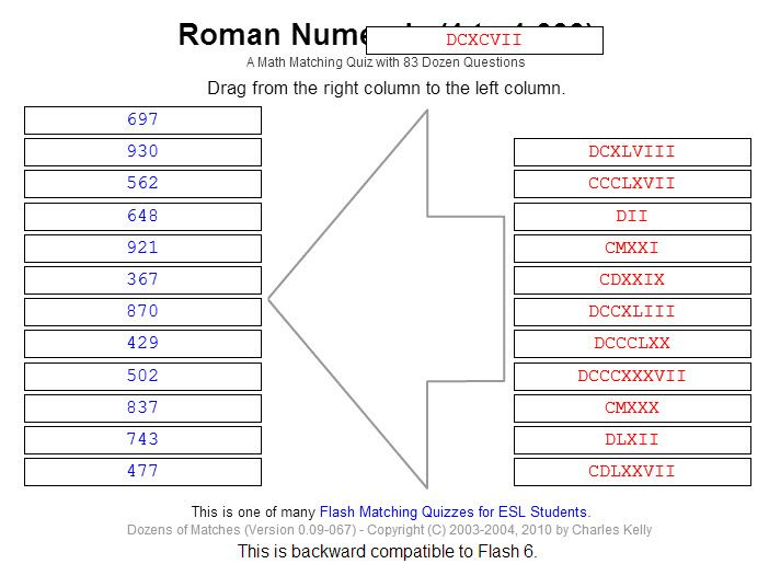 1000+ images about Roman numerals on Pinterest | Student-centered ...